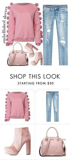 """street style"" by ecem1 ❤ liked on Polyvore featuring WithChic, True Religion and Charlotte Russe"