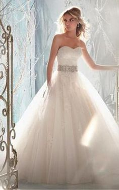 grande immagine 1 Abiti da Sposa con Applique Senza Maniche Cuore Fancy  Naturale Dress Wedding 6726baada290