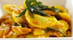 Pumpkin pasta- Source: Coles website