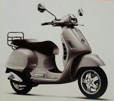My Vespa Piaggio GTS-250 (Reference Photo)