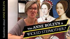 Was Anne Boleyn a wicked stepmother? - The Anne Boleyn Files Mary Tudor, Catherine Of Aragon, King Henry Viii, Tudor History, Anne Boleyn, Life And Death, Book Signing, Ted Talks, Tv Videos