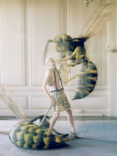 The origin of monsters Love Magazine Spring / Summer 2012 Model: Kristen McMenamy Photographer: Tim Walker Styled by Katie Grand Magazine Vogue, Love Magazine, Artistic Photography, Editorial Photography, Fashion Photography, Victoria And Albert Museum, Steven Meisel, Editorial Fashion, Fashion Art