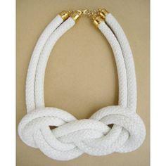 Collar nudo marinero