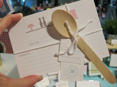 Cute recipe cards by Sweet Beaker