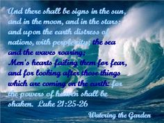 Luke 21: 25-26 (kjv) ~ Signs of End Times... Bible Prophecy Being Fulfilled Right Before Our Eyes.