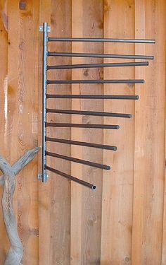 blanket rack for the barn