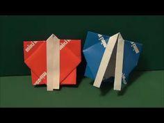 """夏祭り「はっぴ」折り紙""""happi""""origami - YouTube"""