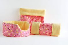 Pink and Gold Hearts Guinea Pig Bed, Tunnel, Snuggle Sack, Matching Set Guinea Pig Care, Guinea Pigs, Guinea Pig Supplies, Hedge Hog, Guinea Pig Bedding, Matching Set, Fun Prints, Heart Of Gold, Snuggles