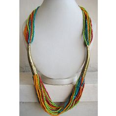 Statement Necklace/Chunky Necklace/Bib by FootSoles on Etsy, $27.50