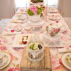 Alina and Mila's Colorful Tea Party - Tea Party