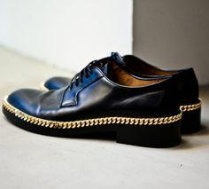 Raf Simons Chain Oxfords DIY for Men MonDIY for Men DIY Guy Crafts checkout http://thediyshow.com/
