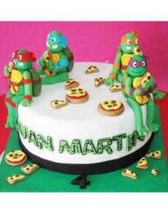 torta_tortugas-ninja #tortatortugasninja