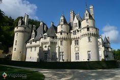 castelos mais bonitos da França chateau d'usse