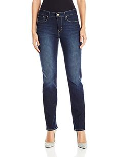 ecbec0dd72f73 Signature by Levi Strauss   Co Women s Totally Shaping Slim Straight Jeans