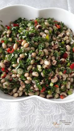 Börülce Salatası Tarifi – Diyet Yemekleri – Diyet Tarifleri – Diyet Lis… – Diyet Yemekleri – Las recetas más prácticas y fáciles Bean Salad Recipes, Vegetarian Salad Recipes, Healthy Salads, Healthy Eating, Healthy Recipes, Turkish Kitchen, Appetizer Salads, Turkish Recipes, Vegan