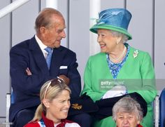 (EMBARGOED FOR PUBLICATION IN UK NEWSPAPERS UNTIL 48 HOURS AFTER CREATE DATE AND TIME) Prince Philip, Duke of Edinburgh and Queen Elizabeth II watch the England vs Wales women's hockey match at the Glasgow National Hockey Centre during day one of 20th Commonwealth Games on July 24, 2014 in Glasgow, Scotland. (Photo by Max Mumby/Indigo/Getty Images)
