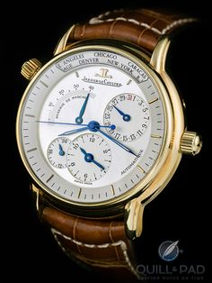 Jaeger-LeCoultre Geographique - #menswear  #chronograph #menswatch #watches #luxury #shopping