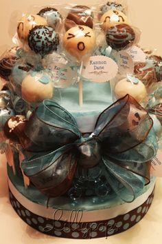 Baby Shower Cake Pop Cake