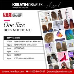 Learn how to maximize your revenue + deliver beautiful hair every day with Keratin Complex. #keratintreatments for every hair type + texture! 📆Monday, May 10 📲Call Now: 1-800-446-3987 📩Mail Us: orders@ronwilson.com . . #virtualeducation #onlineeducation #hairclass #KCSmooth #EBO #frizzfree #healthyhair #salonprofessional #beautifulhaireveryday #kcunplugged Natural Curls, Natural Hair Styles, Elements Of Color, Keratin Complex, Hair Specialist, Curly Girl, Hair Type, Healthy Hair, Hair Trends