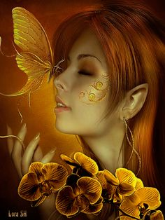 Different Kind's Of Gif's And Pictures Fantasy Kunst, Fantasy Art, Elfen Fantasy, Fairies Photos, Fairy Pictures, Beautiful Fairies, Glitter Graphics, Animation, Fairy Art