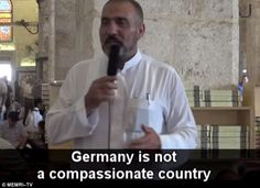 Sheikh Muhammad Ayed - Imam tells Muslim migrants to 'breed children' with Europeans to 'conquer their countries' and vows: 'We will trample them underfoot, Allah willing'