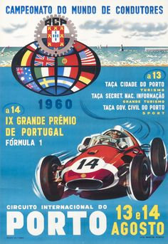 Circuito Internacional do Porto by Artist Unknown | Shop original vintage #posters online: www.internationalposter.com.