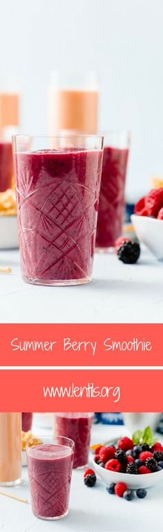 This smoothie is a wonderful way to start the day. Use whatever combination of frozen berries you have on hand.(Vegan Bbq Dessert)