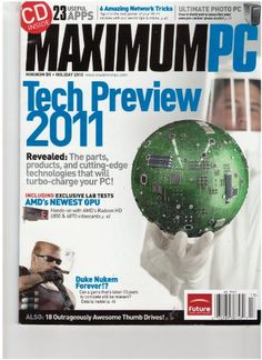 Maximum Pc Magazine (Tech Preview 2011, Holiday « Library User Group