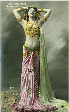 Vintage Belly Dance Postcards