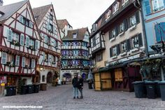 Street View, Strasbourg, Statue Of Liberty, Alsace, Black Forest, 12th Century