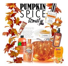 """""""Pumpkin Spice Beauty"""" by clotheshawg ❤ liked on Polyvore featuring beauty"""