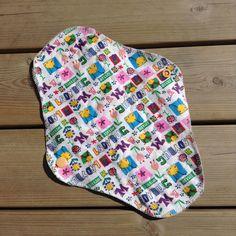 Leonora Flannel/bamboo day menstrual cloth pad