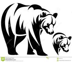 painting on Pinterest   Black Bear, Bear Tattoos and Bears