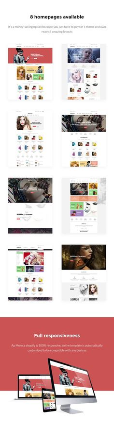 """cad3a97db95bd Buy Ap Monica Shopify Theme by apollotheme on ThemeForest. THEME DETAIL  Apollotheme would like to bring you our newest template for fashion called  """"Ap ..."""