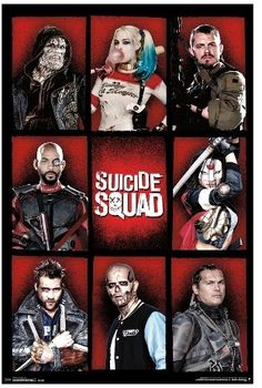 Trends International Suicide Squad Grid Poster 34x22