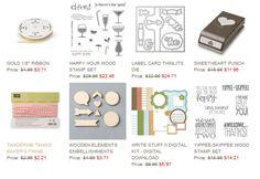 Stampin' Up! Weekly Deals: September 16 Through September 22, 2014 : KreatesKards