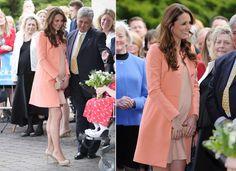 Ronda Kate Middleton: com uma série de vestidos, a duquesa mostra como mantém seu estilo de grávida no verão | Chic - Gloria Kalil: Moda, Beleza, Cultura e Comportamento