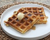 Buttermilk Waffles - these are the ones that Trevor likes