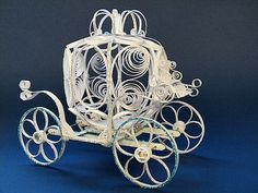 Paper Quilling - Artistic Adventures  Cinderella's carriage