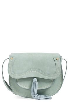 Steven by Steve Madden Faux Leather Saddle Bag