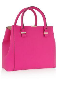 Victoria Beckham Quincy leather tote NET-A-PORTER.COM