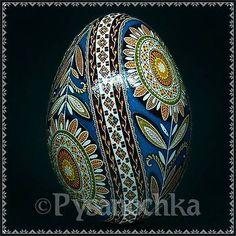 Real Ukrainian Pysanka Goose Pysanky Best by Halyna, Easter Egg