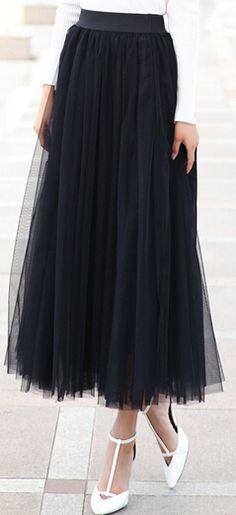 afb2ba5787 1328.25 руб. |2015 Spring and summer new korean style 8 m big swing skirts  womens high waist tutu tulle skirt 7065 купить на AliExpress