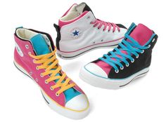 Create your own Converse. Very cool. My daughter designed her own hi-tops