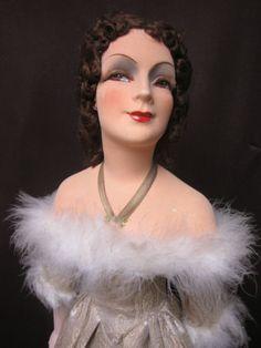Regal-35-All-Original-Brunette-French-Silk-Boudoir-doll