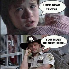 Walking Dead vs Sixième sens