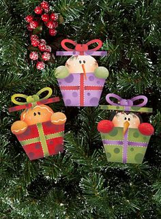 Present Ornaments by Renee Mullins - Decorative Painting Patterns from ArtistsClub.com
