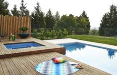pools on sloping blocks - Google Search