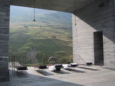 Amazing hotel & spa. Worth a journey. Therme Vals by Peter Zumthor, Switzerland.