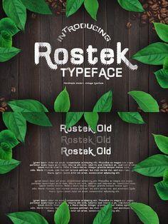 Rostek Old Typeface. Wedding Fonts, Wedding Invitations, Wedding Suite, Wedding Card Templates, Floral Garland, Garland Wedding, All Fonts, Card Sizes
